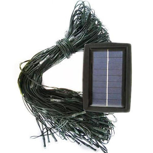 100 or 200 LED White Solar Netting Light-GoAmiroo Store