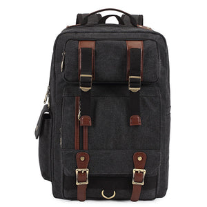 Kaukko Mens Canvas Travel Backpacks - Goamiroo Store