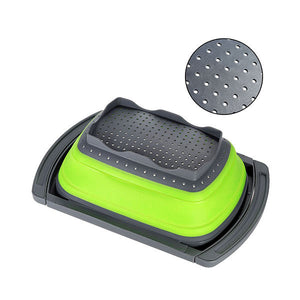 Collapsible Over The Sink Colander - Goamiroo Store