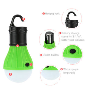 Set Of 3 Emergency Tent Lights - Goamiroo Store