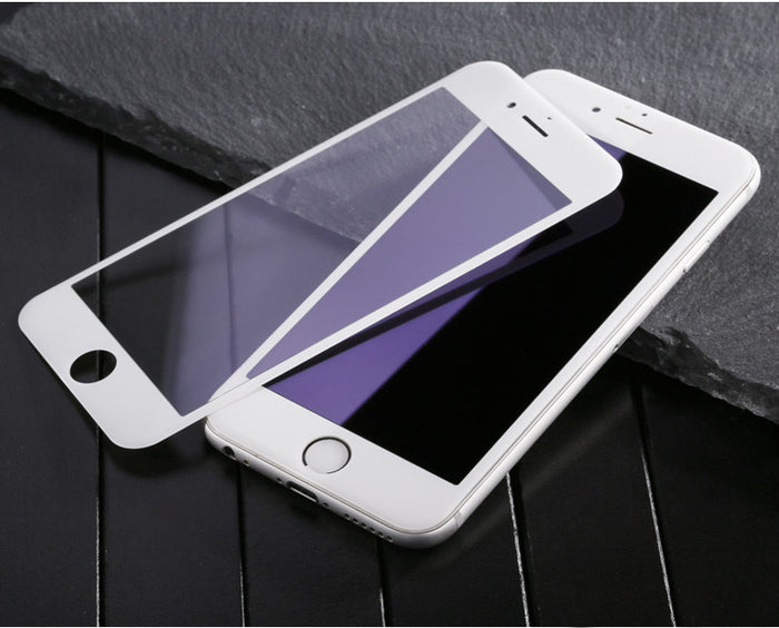 3D Curved Silicon Edge Full Cover Tempered Glass