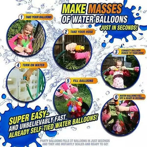 Set Of 111 Magic Water Balloons - Goamiroo Store