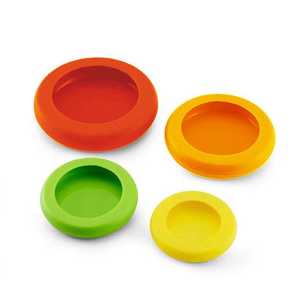 Set of 4 Silicone Food Saver Caps-GoAmiroo Store