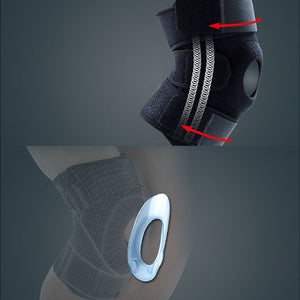 Enhanced Breathable Knee Support With 4 Carbon Bones - Goamiroo Store
