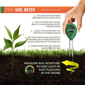 3-in-1 Soil Test Kit-GoAmiroo Store