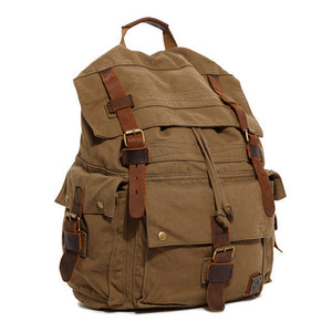 Retro Unisex Canvas Backpack - 2 Styles - Goamiroo Store