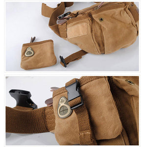 Multi-Functional Canvas Portable Sling Bag - Goamiroo Store