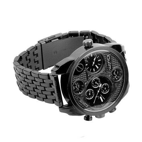 Oulm HT9316 Men's Multi Display Quartz Watch-GoAmiroo Store