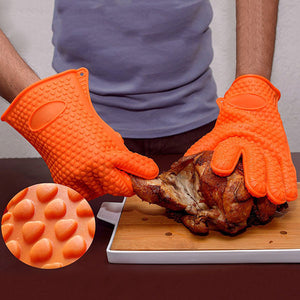Silicone Heat Resistant Gloves - Goamiroo Store