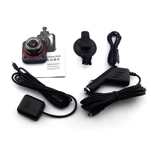 Full HD 1296P Mini Car DVR GS52D With GPS-GoAmiroo Store