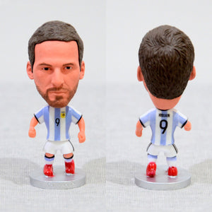 Football Player Higuain #9 Argentina Juventus 2.5Inch Action Figure - Goamiroo Store