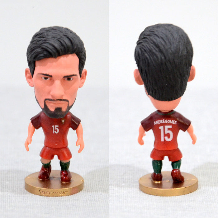 Football Player Andre Gome #15 Portugal 2.5inch Action Figure