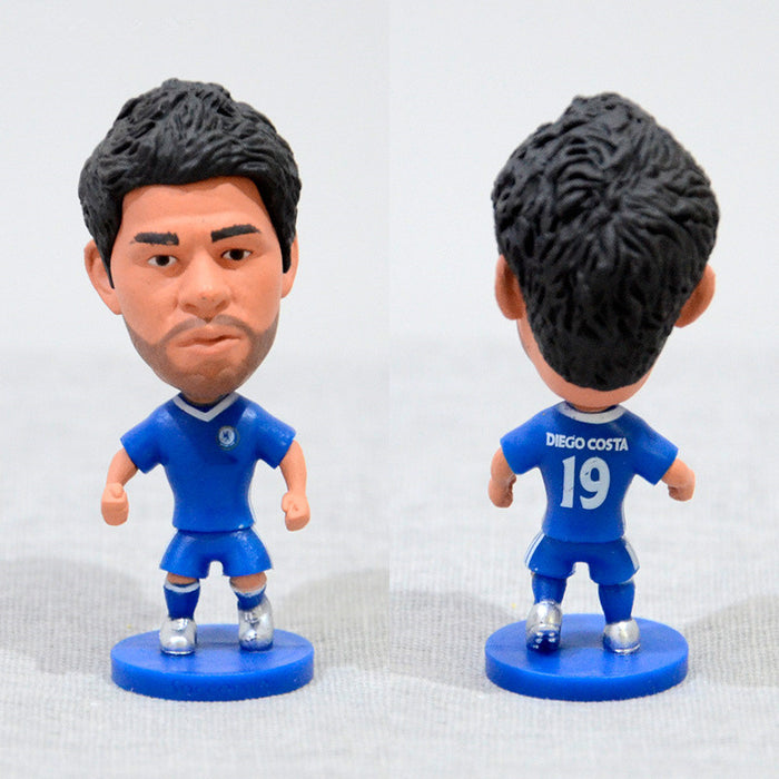 Football Player Diego Costa #19 Che 2.5inch Action Figure
