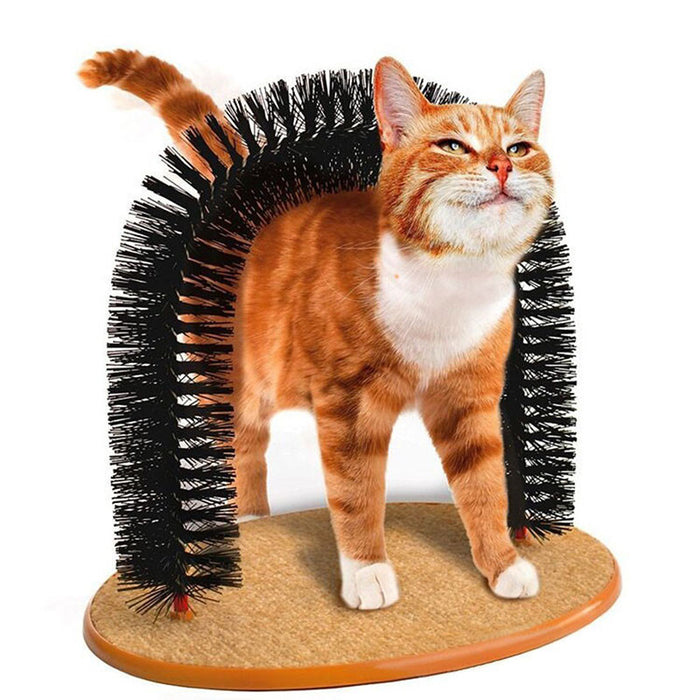 Bristles Purrfect Arch Groomer and Massager Toy