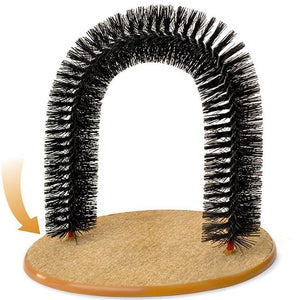 Bristles Purrfect Arch Groomer And Massager Toy - Goamiroo Store