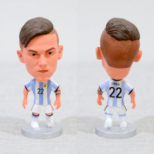 Football Player Dybala #22 Argentina 2.5Inch Action Figure - Goamiroo Store