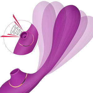 Sucking Masturbator 10 Speeds Rechargeable G Spot Female Massager Sex Toy for Women Adult Anal toy Waterproof Vagina Vibrator