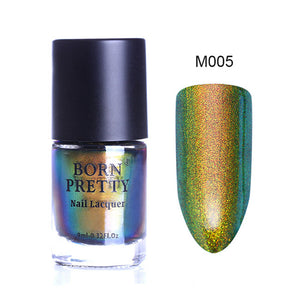 Chameleon Nail Polish 9Ml Gold Violet Galaxy Glitter Sunset Glow Sequins Nail Lacquer Varnish (Black Base Needed) - Goamiroo Store