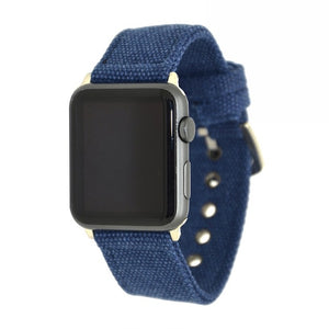 For Apple Watch Canvas With Stainless Steel Buckle For Iwatch Series 1 And Series 2 Series3 Bracelet 38/42Mm Band - Goamiroo Store
