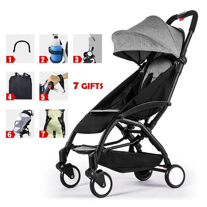 Baby Stroller Lightweight Folding Stroller Ultra-Light Kids Travel Portable Yoya Stroller