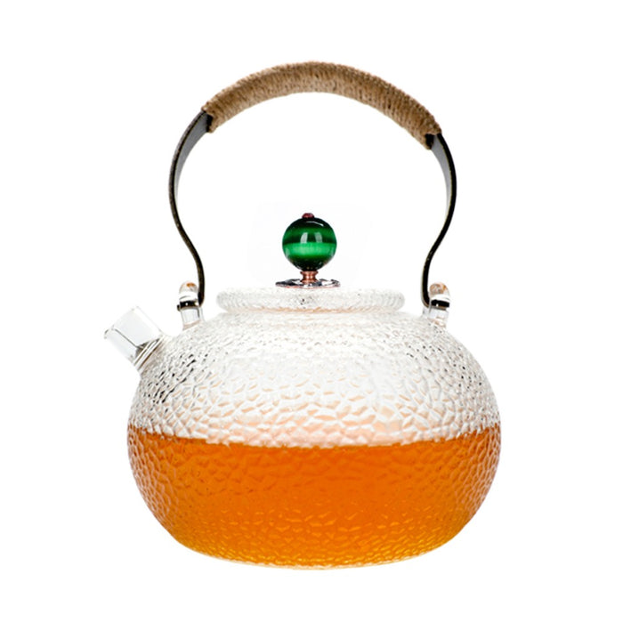 700ml Cute Clear Heat Resistant Glass Teapot