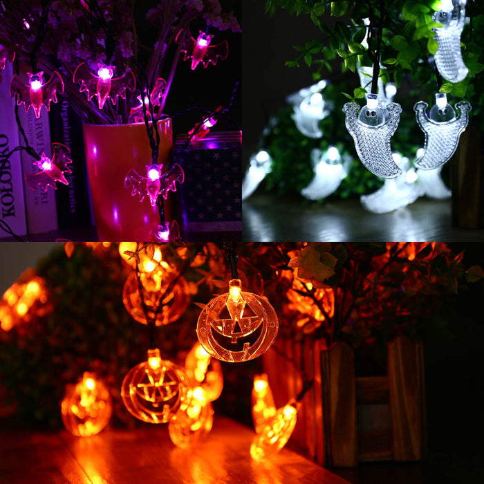 3pcs/lot 20LED Halloween Fairy String Lights Decorated