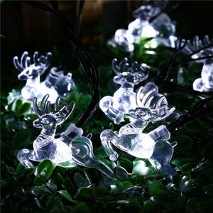 20 LED Solar String Light Panel Romantic Waterproof Lamp-GoAmiroo Store