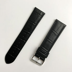 For Samsung Gear S3 Frontier Classic Watch Band 22Mm Crocodile Grain Real Genuine Leather Watch Replacement Bracelet Strap - Goamiroo Store