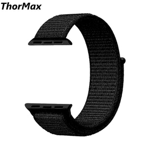 Thormax Sport Woven Nylon Loop For Apple Watch Band 38Mm 42Mm Wrist Braclet Adjust Nylon For Iwatch Strap Series 1/2/3 Ny1002 - Goamiroo