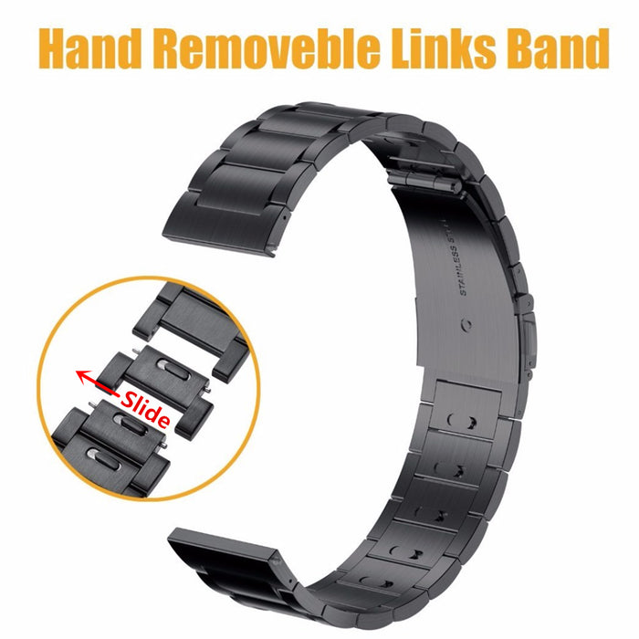 Easy to install 316L Stainless Steel WatchBand for Samsung Gear S3 Frontier/Classic Hand Removable Links Band Replacement Strap
