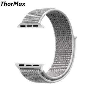 Thormax Sport Nylon For Apple Watch Band 42Mm 38Mm Wove Nylon Watch Strap For Iwatch Series 3/2/1 Wrist Bracelet Nl1001 - Goamiroo Store
