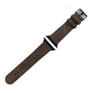 Crazy Horse Leather Classic Strap For Apple Watch Series1 Series2/3 Replacement Watchband 38Mm/42Mm Thormax - Goamiroo Store