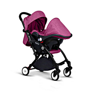 Baby Stroller 3 In 1 With Car Seat For Newborn High View Pram Folding Baby Carriage - Goamiroo Store