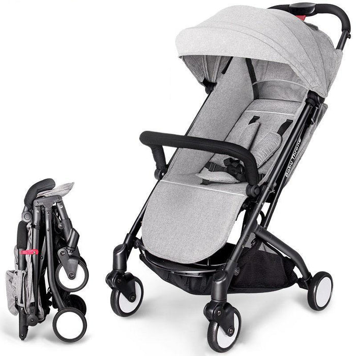 Protable Stroller Baby Carriage Can Sit&Amp;Lie Folding Stroller Ultra-Light Kids Travel Yoya Stroller Can Put On Airplane