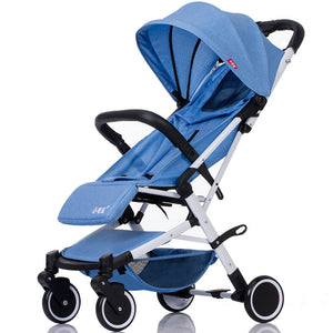 Baby Stroller Trolley Car Wagon Folding Baby Carriage Bebek Arabas Buggy Lightweight Pram - Goamiroo Store