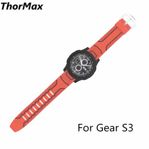 Gear S3 Frontier / Classic Watch Band 22Mm Soft Silicone Man/women Watch Replacement Bracelet Strap For Samsung Gear S3 Thormax - Goamiroo