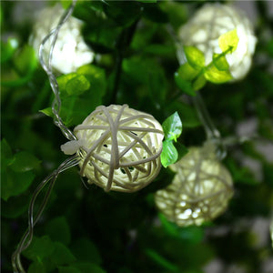 20pcs String Lights White Ball Lantern Xmas-GoAmiroo Store