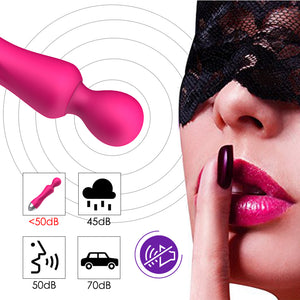 12 Speeds G Spot Dildo Vibrators for Women Magic Wand Body Massager Sex Toy For Woman Clitoris Stimulate Female Sex Products-GoAmiroo Store