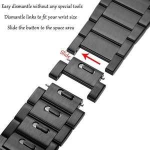 316L Stainless Steel Apple Watch Band Easy to dismantle Replacement Strap for Apple Watch Series3 Series2 Series1 38mm/42mm-GoAmiroo Store