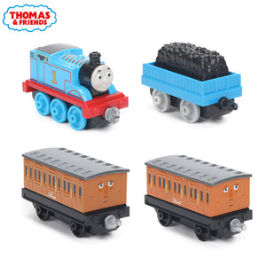 4pcs/box Thomas & Friends Collectible Wooden Railway Train Annie Clarabel Passenger Pick-up Crew Die Cast Trains Engines DGB79-GoAmiroo Store