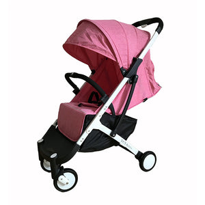 Lightweight Stroller With Gifts Yoyaplus Style Baby Carriage Can Sit Lie Folding Stroller Ultra-Light Portable On Plane - Goamiroo Store