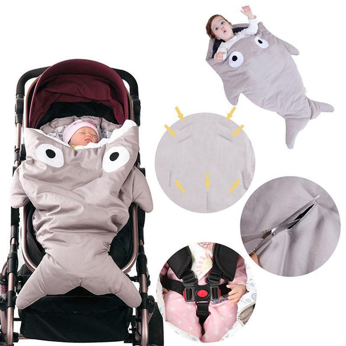 Baby Stroller Accessories 8 Colors Cotton Windproof Cover Baby Sleeping Bag