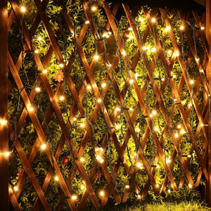 Led String Lights Ac Powered 33Ft 100Led 110V Fairy Decorative Christmas Lights - Goamiroo Store