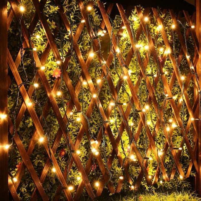 LED String Lights AC powered 33ft 100LED 110V Fairy Decorative Christmas Lights