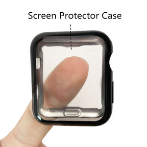 Thormax Watch Screen Protect Case Soft Tpu Material Silicone Cover For Apple Watch Series 2 /3 Iwatch 38 /42Mm Watch Accessories - Goamiroo