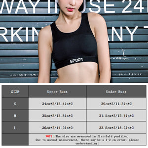 Mesh Sports Bra Women Quick Dry Patchwork Fitness Yoga Bra - Goamiroo Store