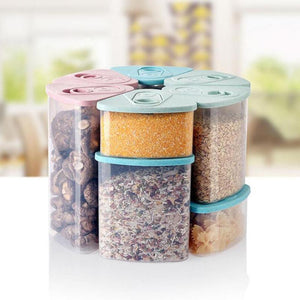 1Pc Plastic Food Storage Containers Kitchen Accessories Container - Goamiroo Store