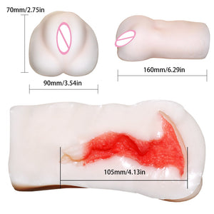 Male Masturbator Cup Artificial Vagina Aircraft Cup Baby Pussy Inflatable Doll 3D Vagina Sex Pussy Sex Toy Sex Products - Goamiroo Store