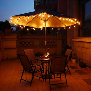 25Ft Globe String Lights With 25 G40 Bulbs - Goamiroo Store