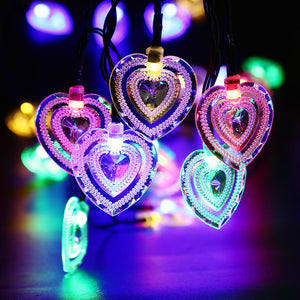 Arrive 20 Led Heart Shape Solar Fairy String Light - Goamiroo Store